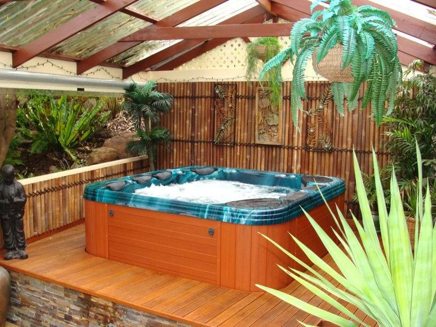 Как построить СПА бассейн на даче