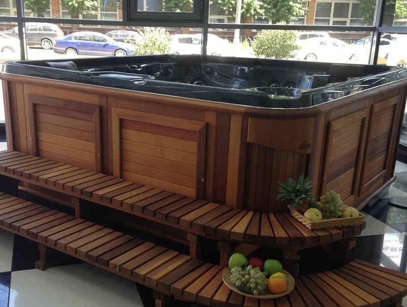 Куда можно установить СПА бассейн